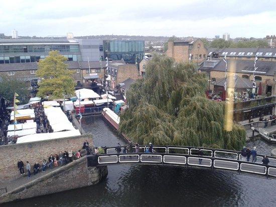 Holiday Inn London - Camden Lock: View from 417