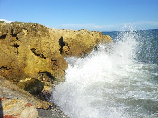 Monica Isabel Beach Club : Big waves, fun to play in, not dangerous at all