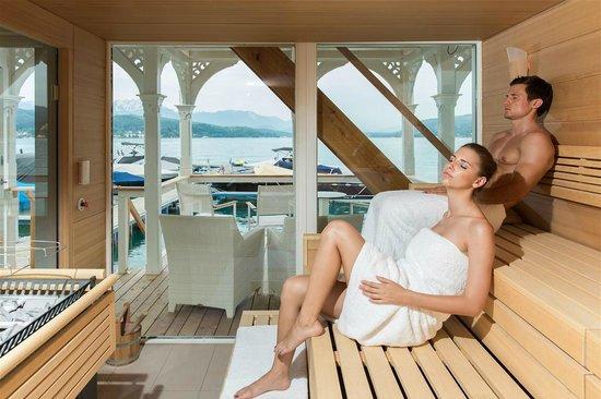 Werzer's Hotel Resort Portschach: Seesauna
