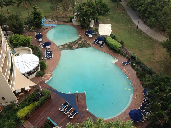 Gemini Resort: Fantastic Pool Area, with Park next door and Beach across Path