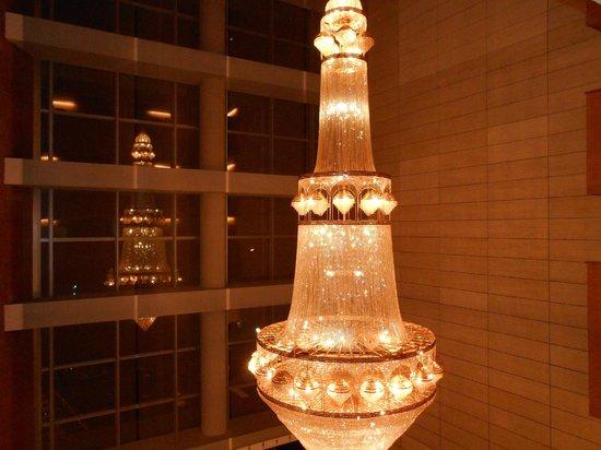 Barceló Granada Congress: lampara impresionante
