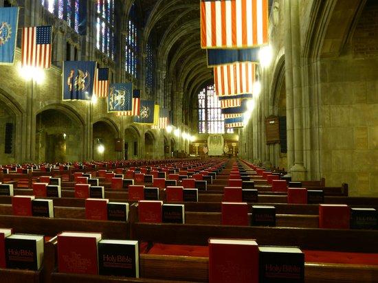 West Point Tours: Protestant Chapel Interior