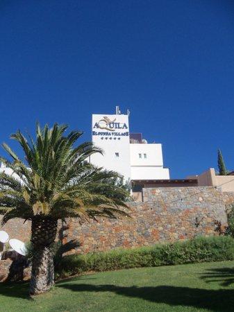 Aquila Elounda Village Hotel: Hoofdgebouw