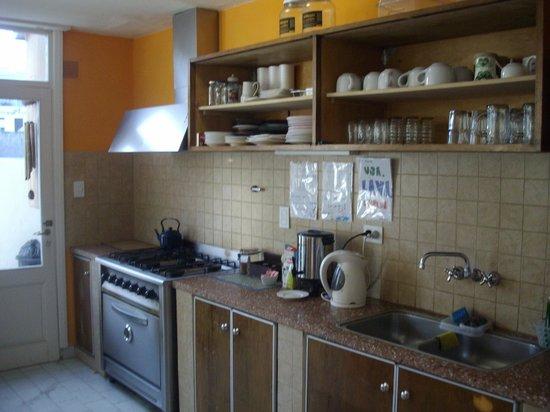 Planeta Hostel: cocina