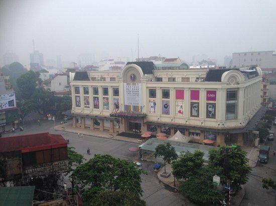 Nova Hotel: from balcony