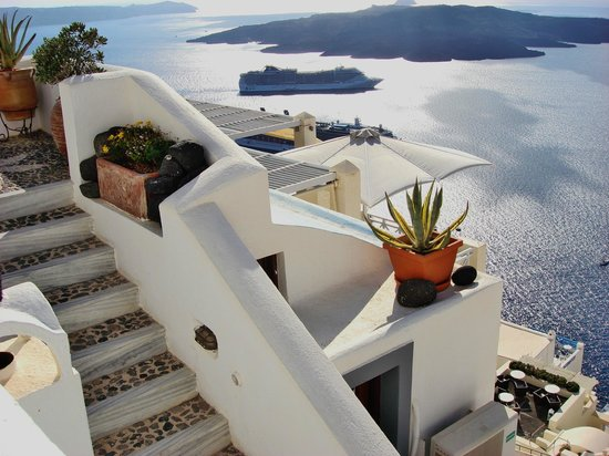 Firostefani, Greece: Santorine, Grécia