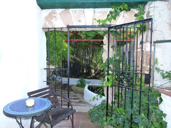 Hotel Enfrente Arte: les jardins