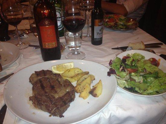 La Taverna del Bracho : Bistecca danese alla brace!