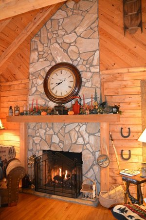 Valle Crucis Bed & Breakfast : Living area