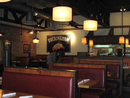 Jim & Nicks BBQ: Restaurant seating-mid afternoon, not busy