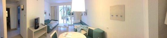 Protur Safari Park Aparthotel : The main living area.