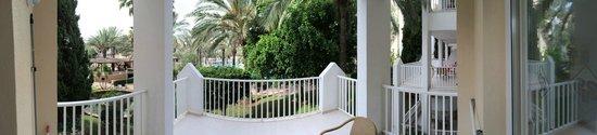 Protur Safari Park Aparthotel : View from the balcony.