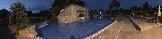 Protur Safari Park Aparthotel : The Closed fun pool. 'La Reserva'.