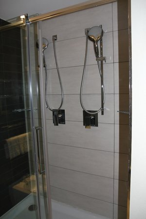 UNA Hotel Modena : double shower