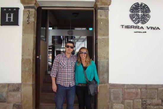 Tierra Viva Cusco Plaza: Em  frente ao hotel
