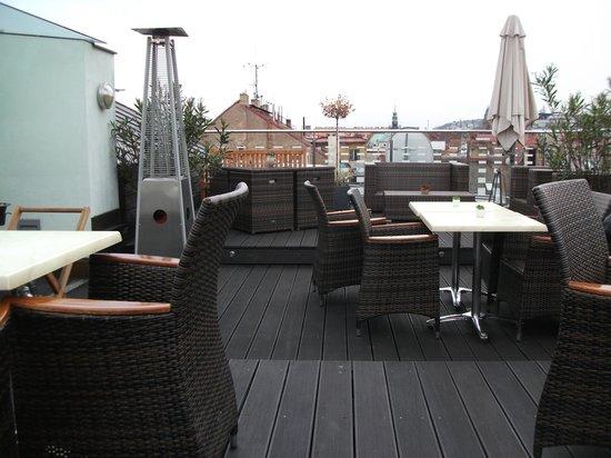 Hotel Julian: Roof terrace