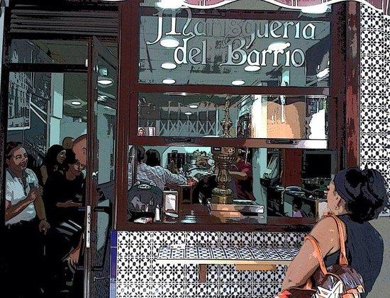 La Marisqueria del Barrio: Cena en Alicante