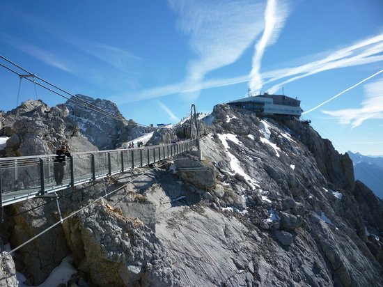 Ramsau am Dachstein, Österrike: Suspension Bridge