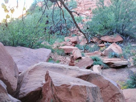 Fay Canyon Trail: End of the trail