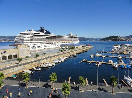 Hotel Compostela: Muelle de Cruceros