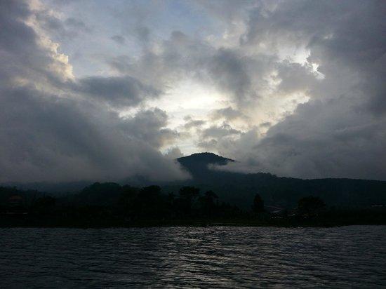 Puri Candikuning Retreat: View from the lake