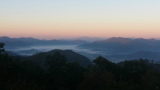 Fire Mountain Inn: View from our deck--Exceptional!!