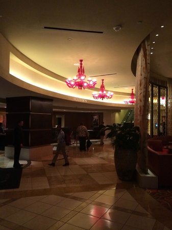 New Orleans Marriott: Hotel lobby