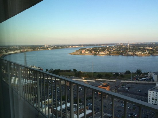 New Orleans Marriott: View from River Tower