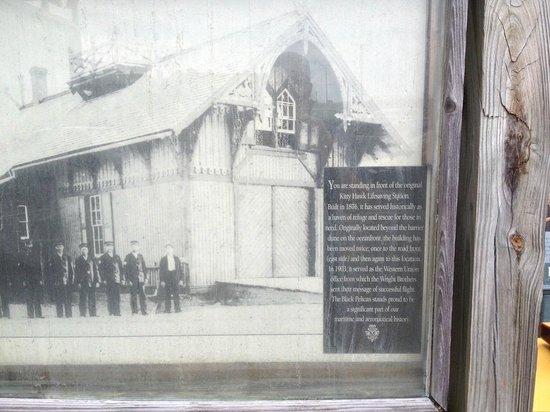 Black Pelican Oceanfront Restaurant: The original lifesaving station/Western Union office.
