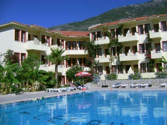 Celay Hotel : poolside area