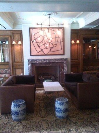 The Marlton Hotel : Sala relax