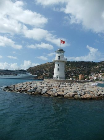Lemon Villa Hotel: Lighthouse in Alanya
