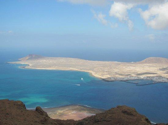 Islas Graciosa : Graciosa vista dall'alto