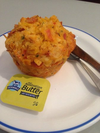 Alice's Daily Grind: Savoury muffin