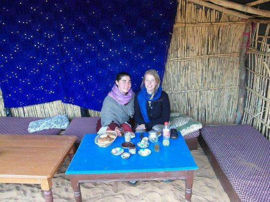 Chez les Habitants : Breakfast in the oasis
