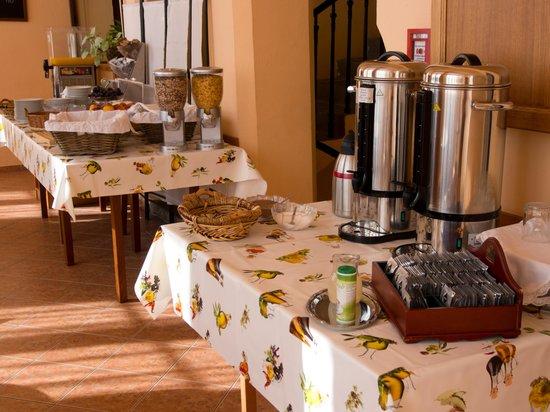 Csaszar Hotel: breakfast