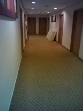 Arabian Park Hotel: hallway area to rooms