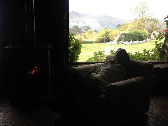 Hacienda Santa Ana: Merecido descanso al calor de la chimenea