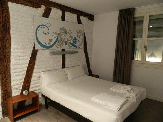 AliciaZzz Bed & breakfast bilbao: La stanza