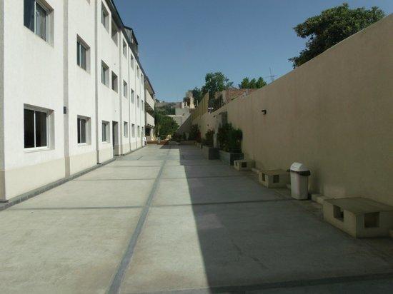 Soltigua Apart: Vista el patio