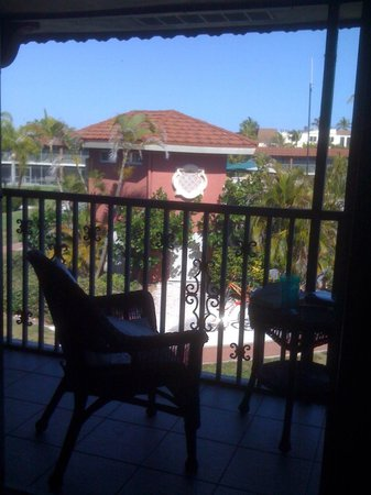 West Wind Inn: View from the room