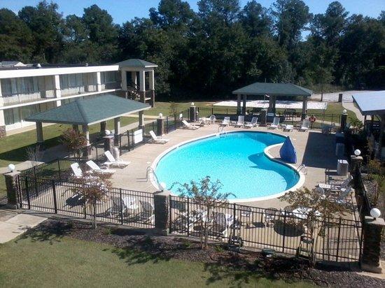 Clarion Inn & Suites Phenix City Columbus: Pool Area