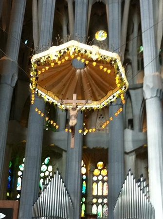 Hotel Via Augusta: Interior of Sagrada Famillia