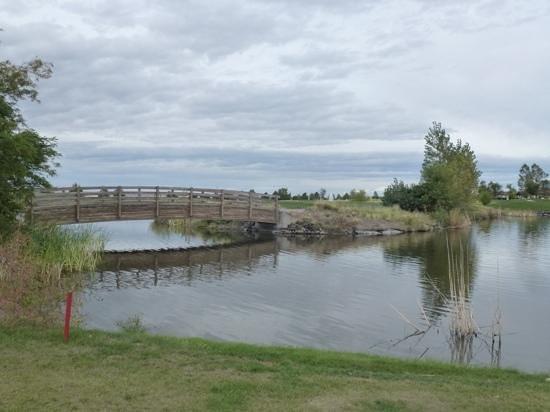Wildhorse Resort & Casino : Wildhorse 18 golf course.