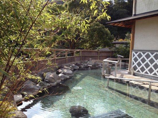 Kannon Onsen : ツルツル、スベスベ美肌の湯