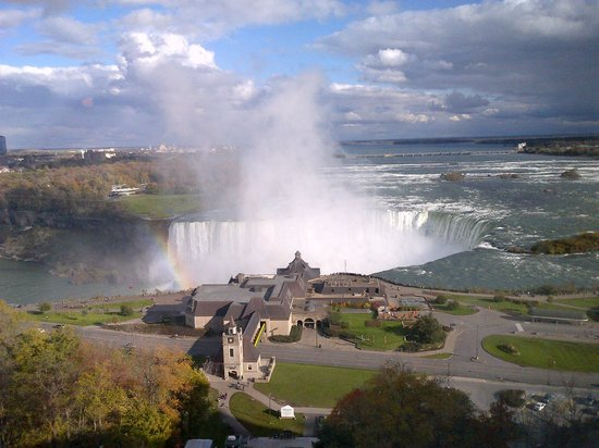Embassy Suites by Hilton Niagara Falls Fallsview Hotel: Taken from my hotel room!!