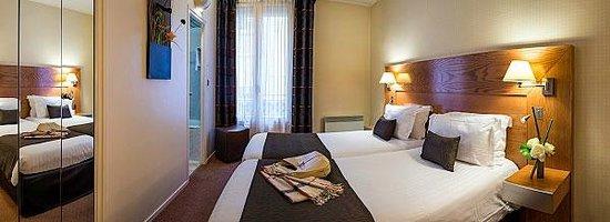 Hotel Magellan: Chambre twin