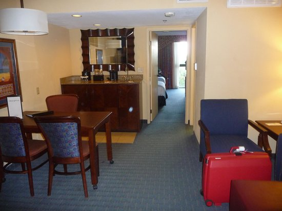 Embassy Suites by Hilton Orlando - International Drive / Convention Center: Room from living area