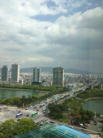 Lotte Hotel World : 部屋からの眺め