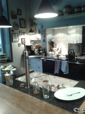 Cucina - Picture of Au Lion d\'Or, Maastricht - TripAdvisor